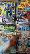 From Avengers Thor Comic Lot Of 130 339-501 Vf+ Bagged