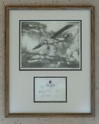 John Macgilchrist Etching The Spirit Of St Louis W Charles Lindbergh Signature