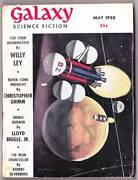 Galaxy Science Fiction May 1958 - 3 Wally Wood Ilos And Leo And Diane Dillon.
