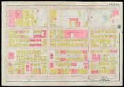 1910 South Boston, Ma, Lawrence And Drake Schools B Street To D St. Atlas Map