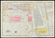 1910 South Boston Ma Commonwealth Fish Pier West 1st- Northern Avenue Atlas Map