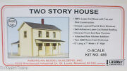 American Model Builders, Inc O 486 Two Story House Laser Kit