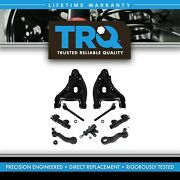 Trq Front 11 Pc Steering And Suspension Kit Lower Control Arms Pitman And Idler Arms