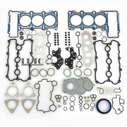 Engine Cylinder Head Valve Cover Gaskets Seals Set For Audi A6 S4 S5 Q7 3.0 Tfsi
