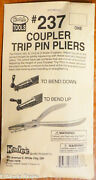Kadee 237 Coupler Trip Pin Pliers -- Use For Hon3 To O Scale Trip Pins Tool