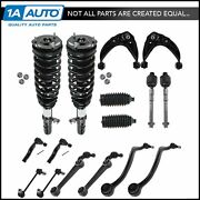 16 Piece Steering And Suspension Kit Complete Struts Control Arms Tie Rod Ends