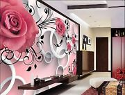 3d Red Flower Ring 3523 Wall Paper Wall Print Decal Wall Indoor Murals Wall Us