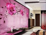 3d Bright Flowers 3525 Wall Paper Wall Print Decal Wall Indoor Murals Wall Us