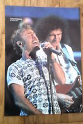 Bryan May Queen And Paul Rodgers Magazine Photo/poster/clipping 11x8 Inches