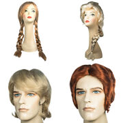 Frozen Wigs Choose Your Style Disney Movie Cosplay Braided Womens Mens