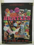 Original Vintage Poster The Beatles Electric Light Show Psychedelic Promo Ad