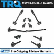 Trq 11 Pc Steering And Suspension Kit Ball Joints Tie Rods Sway Bar End Links New