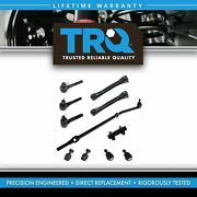 Trq Front Upper Control Arms Tie Rod Ball Joint Drag Link Control Arm Kit Of 11