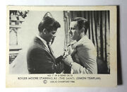 1966 Roger Moore As The Saint Somportex Trading Card 7 From Denmark/uk