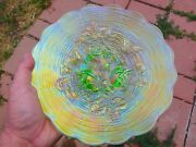 Northwood Ice Green Rose Show Plate - Perfect With Terrific Color