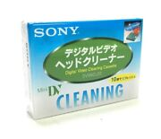 Sony Hdr-fx7 Fx7 Mini Dv Video Head Cleaner Cleaning Cassette Tape Camcorder
