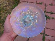 Northwood Ice Blue Poppy Show Plate - Perfect With Loads Of Color