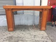 Arts And Crafts Fireplace Mantle With Built In Bookshelfandrsquos Craftsmen