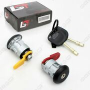 Door Lock Complete Set + 2 Keys Front Right-left Repair Kit For Ford Courier