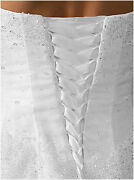 Satin Corset Kit And 10 Extra Wide Panel Wedding Gown Lace-up All Sizes And Colors