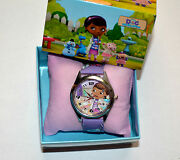 Gift Boxed Doc Mcstuffins Wrist Watch Girls Children Gift, Party New
