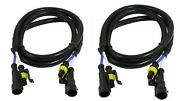 Xenon Hid Extension Wires 24 Extent Hid Ballasts Auto Truck Atv Motorcycles 4x4