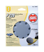 Shopsmith 5 In. Dia. Sanding Disc 220 Grit Extra Fine Hook And Loop 15 Pk