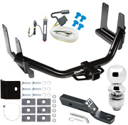 Trailer Tow Hitch For 04-05 Ford F-150 2006 Lincoln Mark Lt W/ Wiring And 2 Ball
