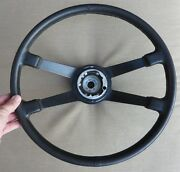 69-73 Porsche 911 Rare Extended Hub 400mm Leather Steering Wheel 901 347 081 15