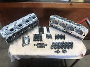 Chevy Top End Kit 396 427 454 496 502 Bbc Aluminum Heads Oval Port 540 750 Lift