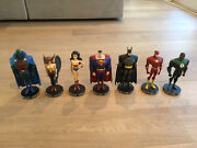 Justice League Animated Maquette Statue Complete Set 7 Artist Proofs 33 Of 200