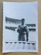 Orig 1947 Mickey Harris Boston Red Sox Pitcher At Shibe Park Photo And Negative