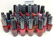 Discontinued Opi Nail Lacquer - Collection Of Very Rare Colors 0.5oz - Series 7