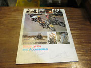 Harley Amf Motorcycle And Accessories Catalog 99511-75