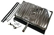 Stainless Gas Tank For 1970 Chevelle No Vents - 3/8 Sending Unit And Straps