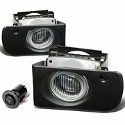 1994-1997 Acura Integra Clear Bumper Fog Lights Driving Lamps Replacement Set