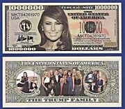 25-melania Trump - First Lady - First Family -dollar Bills Gift-novelty -p2