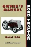 Ford Tractor Naa Jubilee Owner's Manual 1953-1954-1955