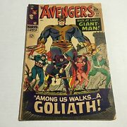 Avengers 28 1st Appearance Of The Collector Marvel Silver Age Key Very Good- Ee