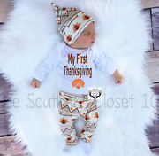 Baby Thanksgiving Outfit, My First Thanksgiving,newborn Coming Home Outfit,
