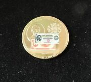 American Mint Commemorative Proof 1922 500 Lincoln Coin Medallion -