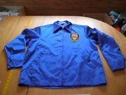 Teamsters Vintage Local 357 Satin Feel Bowlers Jacket Zip L Embroidered 1960's