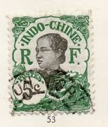 Indo China 1920s Early Issue Fine Used 5c. 162610