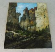 Very Large Maine School Rocky Coast Painting By William Hilliard American