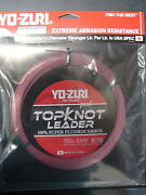 Yo-zuri Topknot Leader Super Fluorocarbon 150lb 30yd R1238-dp Disappearing Pink