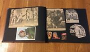 Vintage Western Scrapbook W/ Native American Indian Articles Clippings Pictures