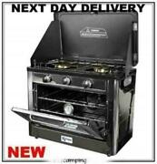 New 2021 Kampa Roastmaster Roast Master Camping Lpg Gas Cooker Oven Double Hob