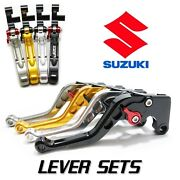 Jpr Roll N Click Shorty Brake And Clutch Levers For Suzuki Gsxr 750 2011 - 2019