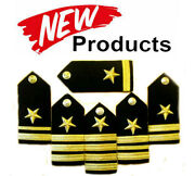 New Us Navy Line Officers Authentic Hard Shoulder Boards Rank Hi Quality Cp Made