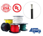 4 Awg Marine Wire Spool Tinned Copper Battery Boat Cable 100 Ft. Black Usa Made